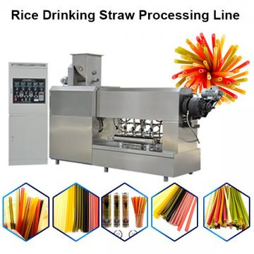 Machine Make Drink Strawmachine Make Drinking Straw