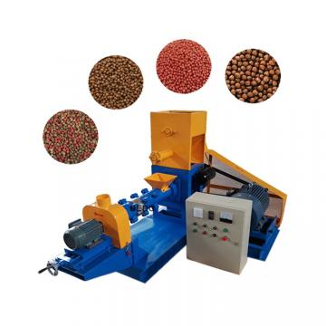 Automatic Floating Fish Feed Pellet Extruder Machinery