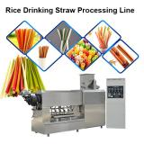 Eco Friendly Food Grade Stainless Steel Italy Long Pasta Straw Machine